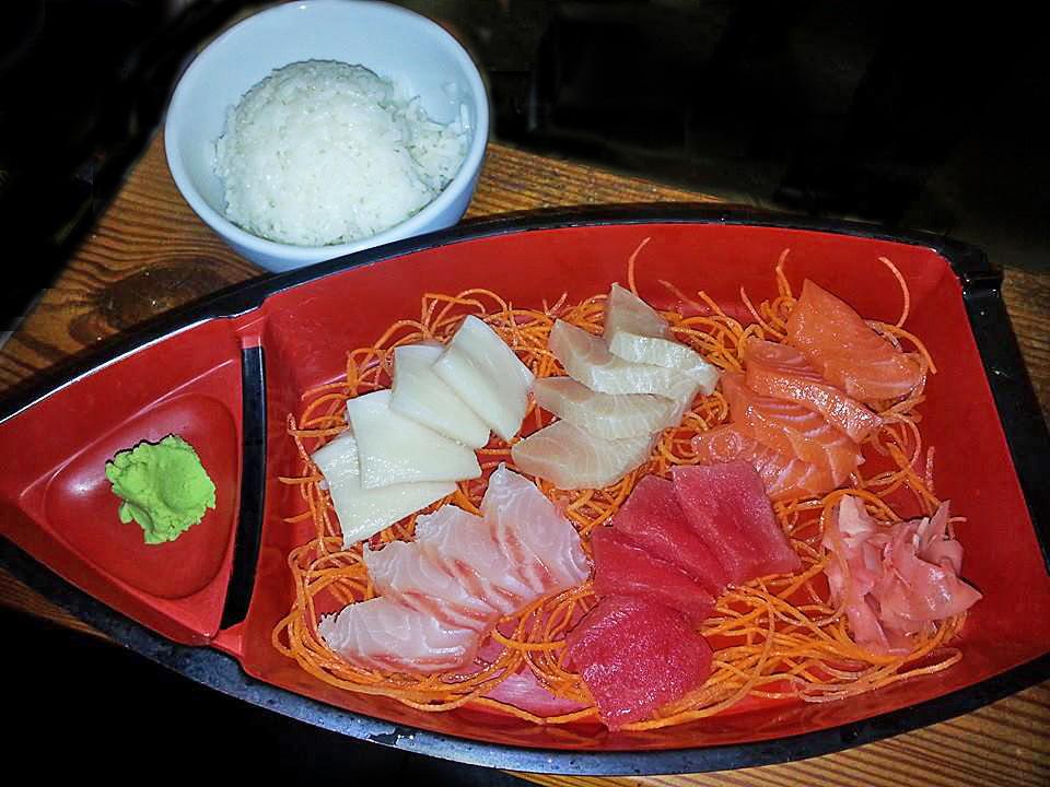 Sashimi Boat - Asahi's Menu