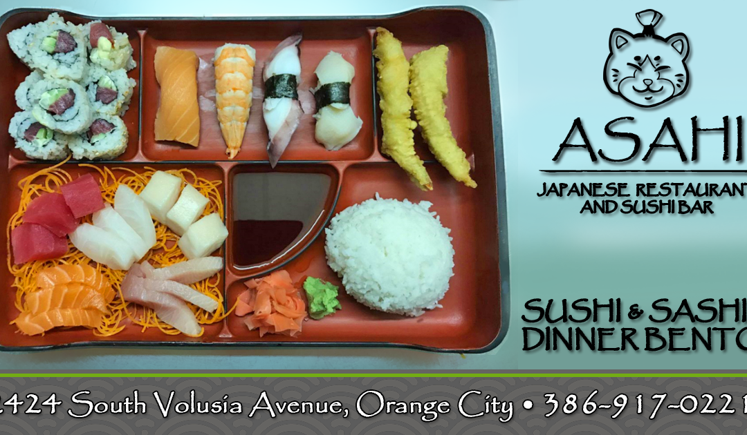 Dinner Bento Plate – Asahi Japanese Restaurant & Sushi Bar